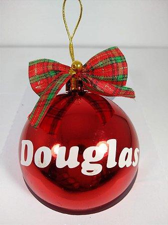 Bolinha de Natal Personalizada com Nome
