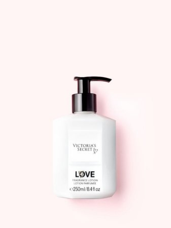 Hidratante victoria secrets  love