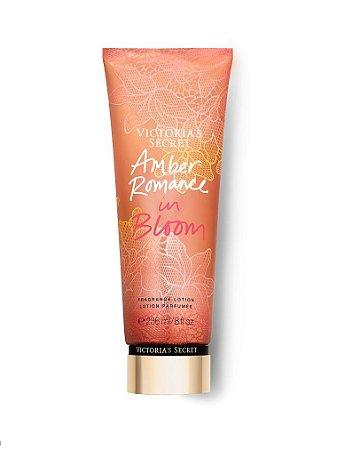 Hidratante victoria secrets  amber romance in bloom
