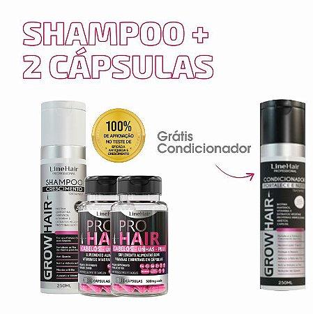 Shampoo + 2 Cápsulas (Grátis Condicionador)
