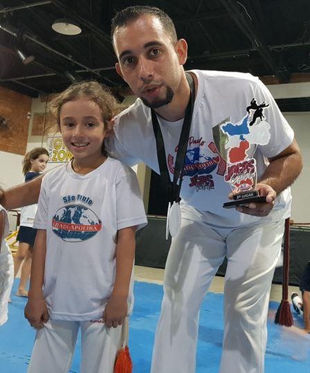 Conjunto (Camiseta e Calça) Capoeira - COD 1001