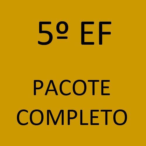 5º EF Pacote Completo (Projeto O Líder em Mim + Livros Didáticos + Livros Paradidáticos)