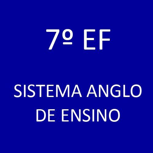 7º EF - Sistema Anglo de Ensino