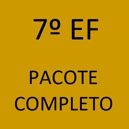 7º EF Pacote Completo (Sistema Anglo de Ensino + Programa Semente + Livros Paradidáticos)