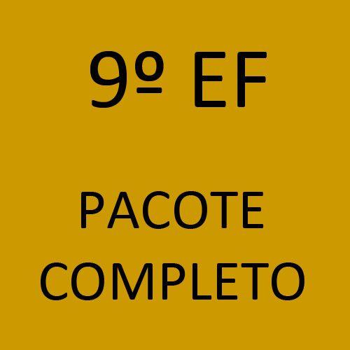 9º EF Pacote Completo (Sistema Anglo de Ensino + Programa Semente + Livros Paradidáticos)