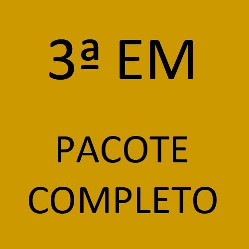 3ª EM Pacote Completo (Sistema Anglo de Ensino + Programa Semente + Livros Paradidáticos)