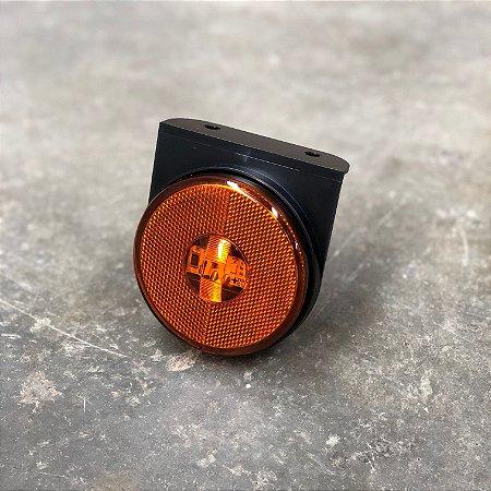 Lanterna Lateral com Suporte - LED Bivolt Ø85mm