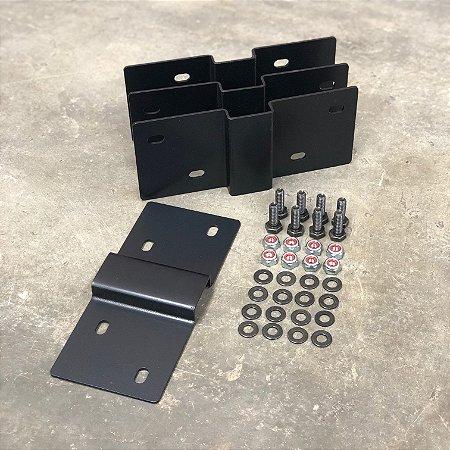 Kit Fixação Caixa Ferramentas Bepo Pequena 96L
