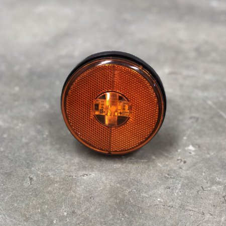 Lanterna Lateral sem Suporte - LED Bivolt Ø85mm