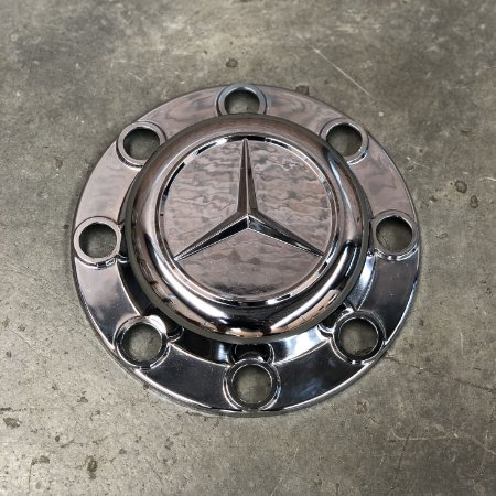 Sobre Tampa do Cubo Tração Mercedes-Benz Accelo Cromada
