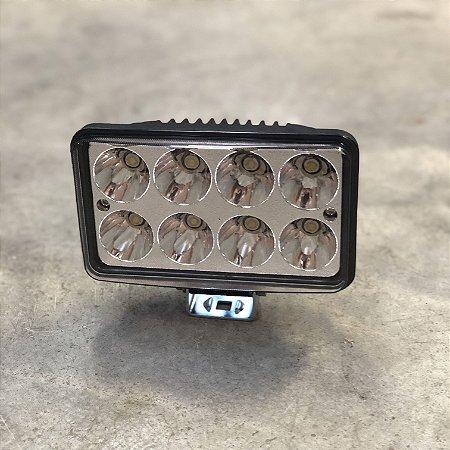 Farol em LED Alto/Baixo 24w Retangular Bivolt
