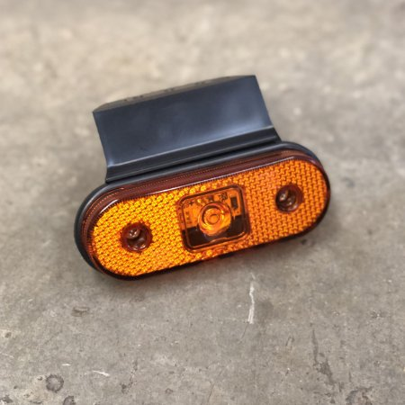 Lanterna Lateral com Suporte Facchini - LED Bivolt