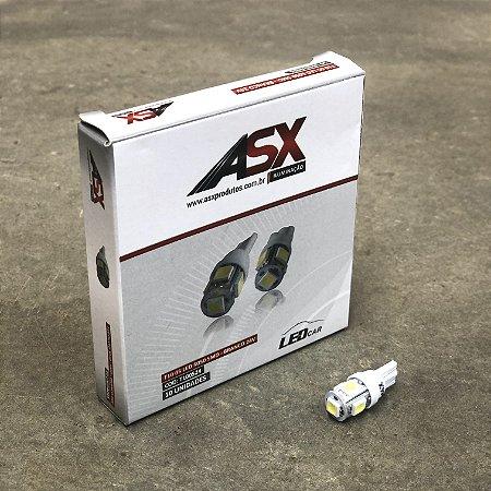 Lâmpada T10 5 LEDs 5050 SMD 24V - Branca