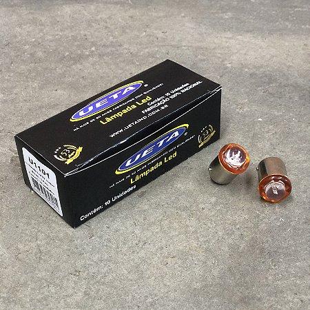 Lâmpada 67 em LED 1 Polo Bivolt 12/24V - Âmbar