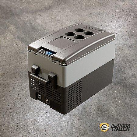 Geladeira Resfri Ar 31L Portátil Quadrivolt Digital 2020