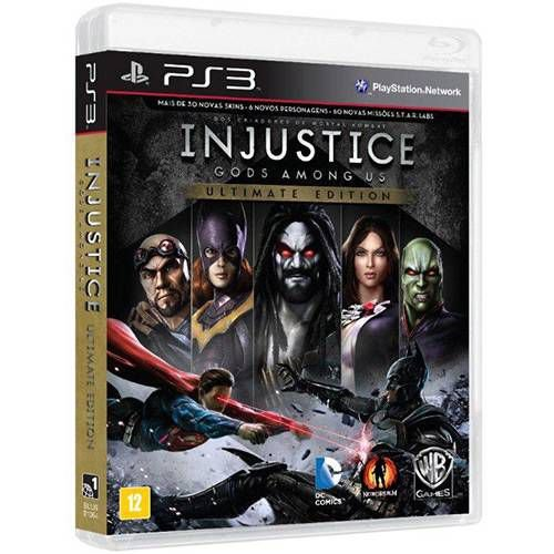 Injustice Gods Among Us Ultimate Edition PS3 - Usado