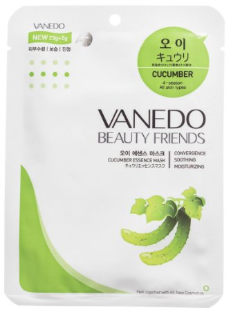 VANEDO Pepino - Máscara Hidratante Facial