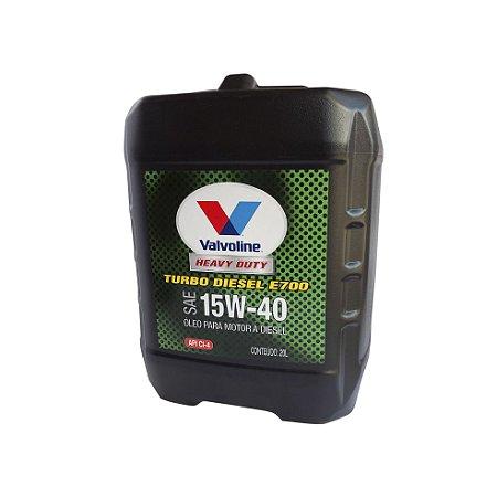 Oleo Lubrificante Valvoline E700 Turbo Diesel 15w40 Api Ci-4