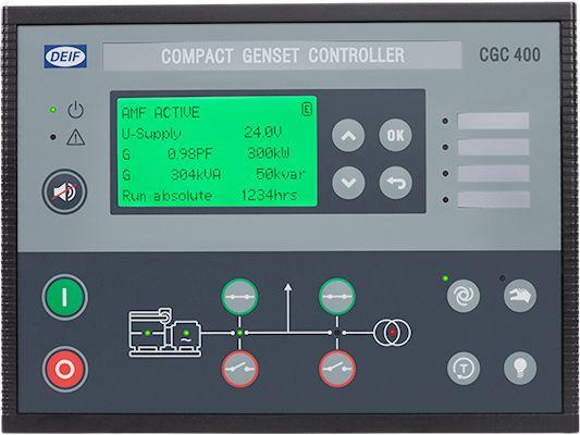 CONTROLADOR COMPACTO DEIF CGC 400