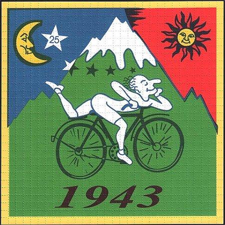 Quadro Blotter Art - Bike 1943