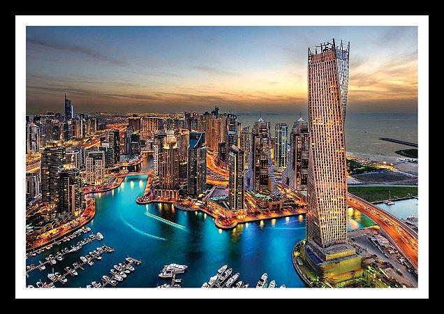 Quadro Strass Cristais Swarovski Dubai Emirados Árabes Colorido