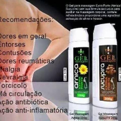 GEL para massagem ARNICA e SUCUPIRA - 200gr