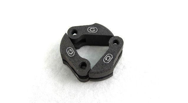 Sapatas de compósito (Preta) Go engine com jogo de molas 1.0, 1.1 e 0.9mm
