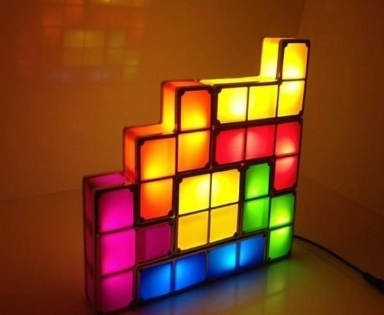 Tetris LED Luminoso