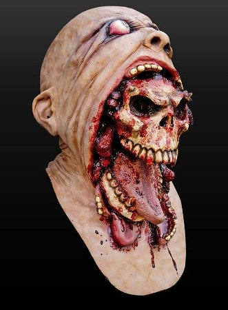Máscara Caveira Parasita