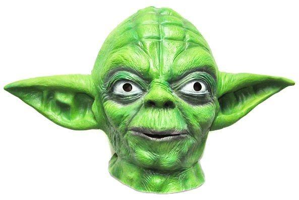 Máscara Mestre Yoda