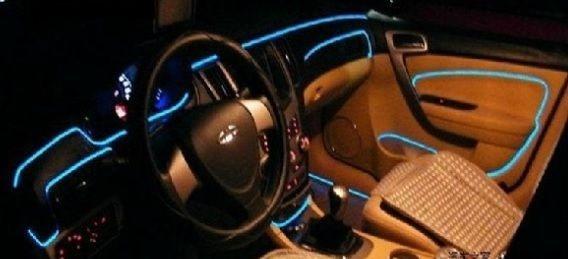 Iluminação Faixa Tira LED Interior Carro