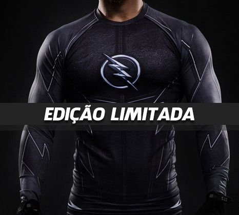Camiseta The Flash ZOOM Black Edition