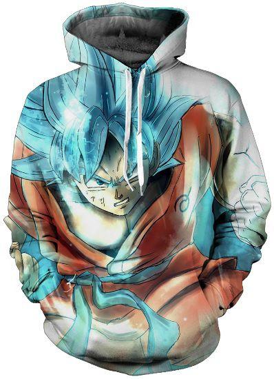 Goku Super Saiyajin Azul