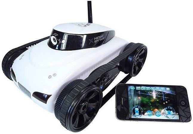 Tanque Espião Foto e Filma Wi-Fi