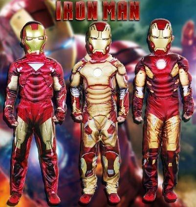 Iron Man Fantasia Infatil