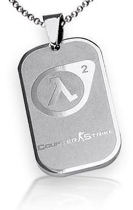 Counter Strike Colar Amuleto