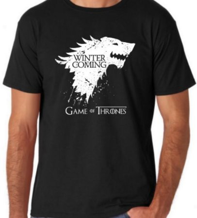 Camiseta Winter is Coming Game Of Thrones