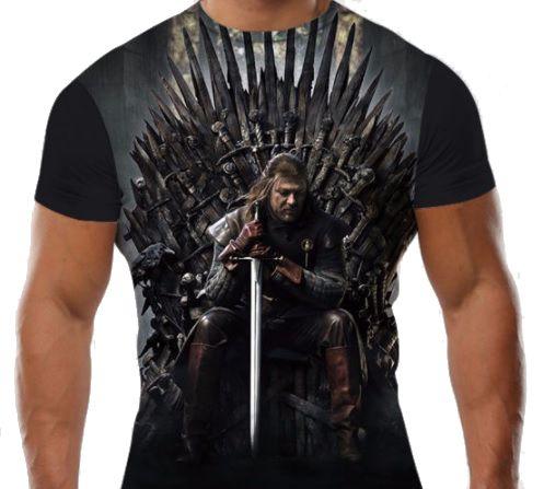 Camiseta Ned Stark Game Of Thrones