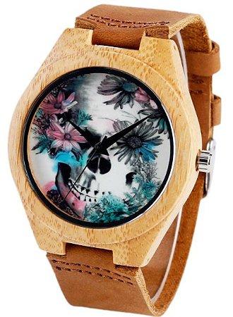 Relógio Skull Light