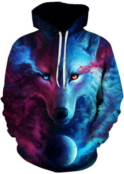 Moletom Night Wolf
