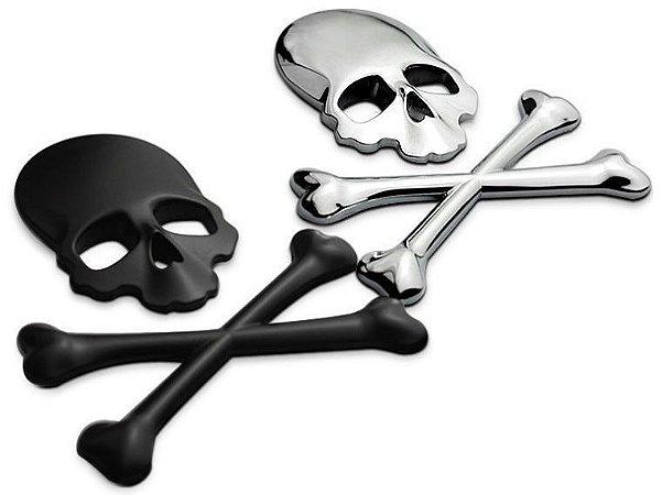 Adesivo Caveira Pirata