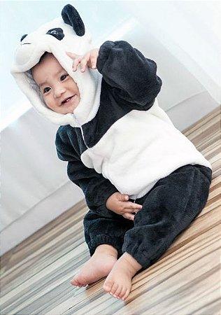 Macacão Bebê Panda