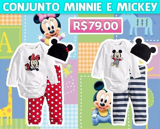 Conjunto Minnie Mickey