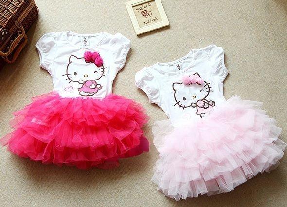 Vestido Hello Kitty