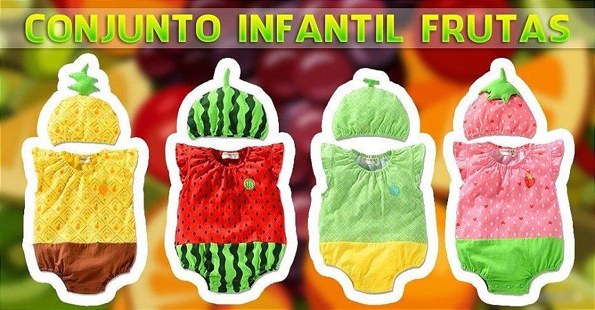 Conjunto Infantil Frutas