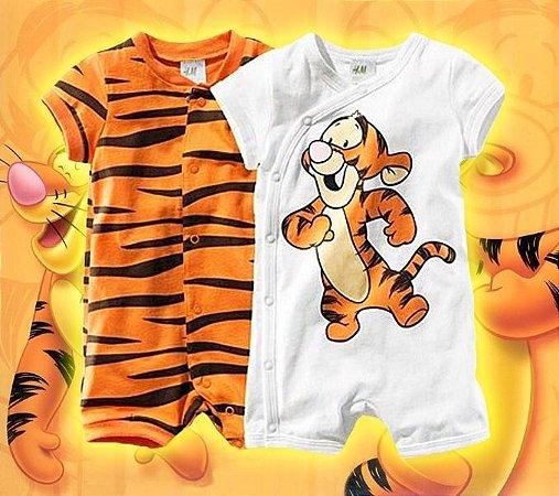 Conjunto Infantil Tigrão Ursinho Pooh