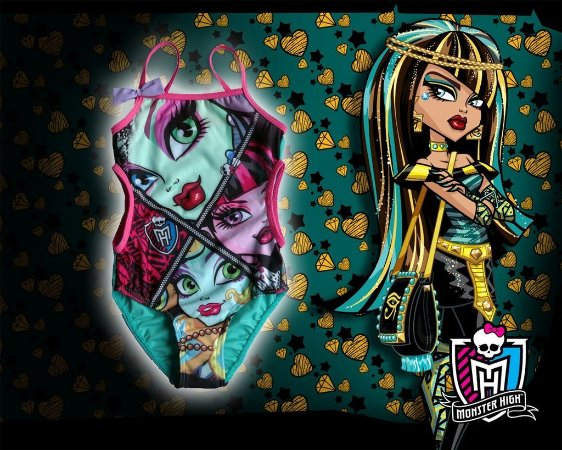 Maiôs Infantis - Monster High e Frozen