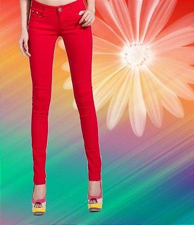 Calça Jeans Color