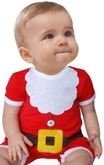 Conjunto Infantil Natal Papai Noel