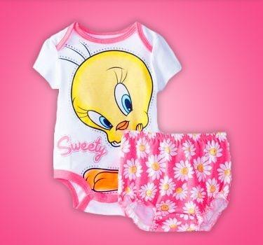 Conjunto Infantil Piu Piu Minnie Mickey e Tigrão Pooh
